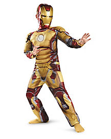 Kids Muscle Mark 42 Iron Man Costume - Iron Man