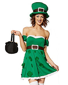 Adult Spank Me I'm Irish Costume