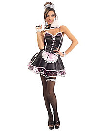 Naughty French Maid Adult Costume