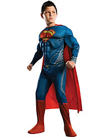 Superman Man of Steel Deluxe Child Costume