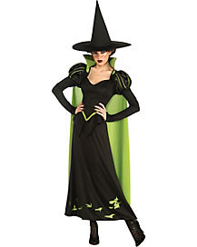 Adult Wicked Witch Costume - Wizard of Oz