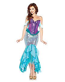 Adult Princess Ariel Costume Theatrical -  Disney