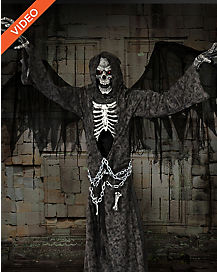 7.5 Ft Angel of Death Animatronics - Decorations