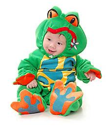 Baby Green Froggie Costume