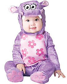 Huggable Hippo Baby Costume