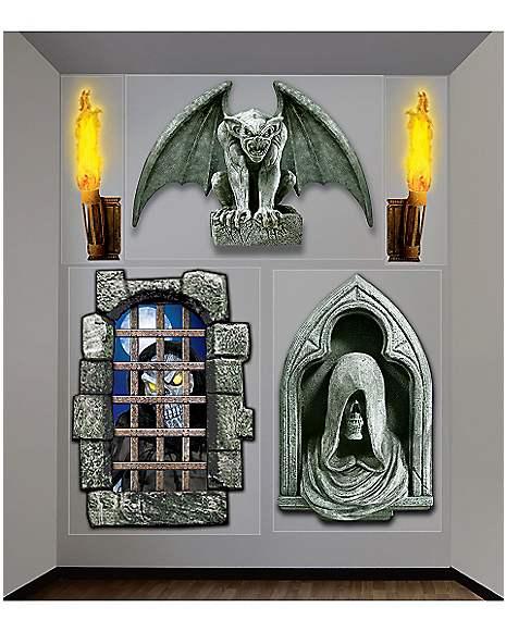 Spirit Halloween Wall Decor : Creepy dungeon wall d?cor decorations spirithalloween
