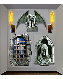 Creepy Dungeon Wall Décor - Decorations