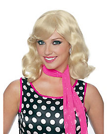 50's Magic Blonde Adult Womens Wig