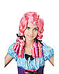 Coral Magenta Doll Adult Wig
