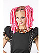 Anime Pink Curls Wig with Hairscara