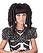 Baby Doll Black Wig with Bangs