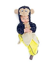 Monkey in a Banana Baby Bunting