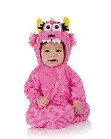 Baby Bunting Pink Monster Costume