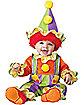 Baby Cuddly Clown Costume