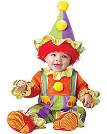 Baby Cuddly Clown Costume