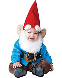 Blue Garden Gnome Baby Costume