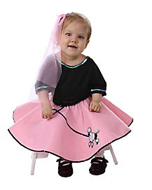 Baby Poodle Skirt 50s Costume