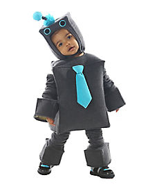 Toddler Roscoe the Robot Costume