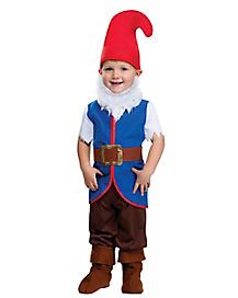 Gnome Boy Child Costume