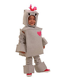Toddler Rosalie the Robot Costume