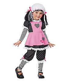 Rag Dolly Toddler Costume
