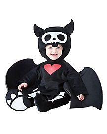 Skelanimal Diego the Bat Baby Costume
