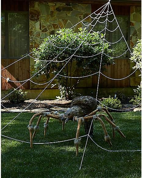 Web Decor: 23 Ft Mega Spider Web