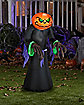 4 Ft Pumpkin Reaper Kid Inflatable - Decorations