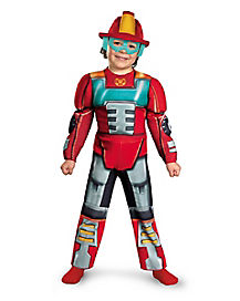 Transformers Heatwave Muscle Toddler Costume