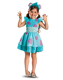 Monsters University Sulley Toddler Girls Costume