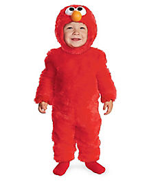 Toddler Light Up Elmo One Piece Costume - Sesame Street