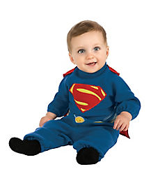 Baby Superman Costume - Man of Steel