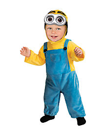 Toddler Dave Minion Costume - Despicable Me 2