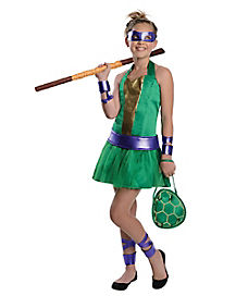 Tween Donatello Dress Costume - Teenage Mutant Ninja Turtles