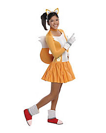 Sonic The Hedgehog Tails Girls Teen Costume