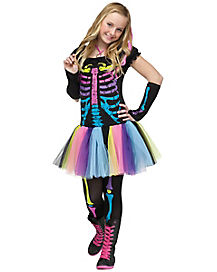 Teen Funky Punk Costume