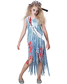 Kids Homecoming Horror Zombie Costume