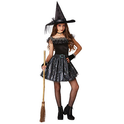 Witch Glitter Girls Child Costume