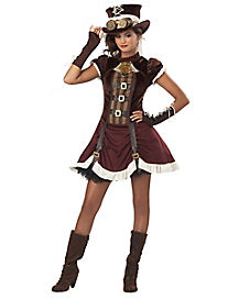 Steampunk Tween Costume