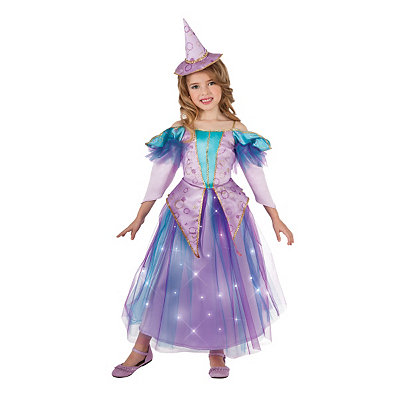 Light Up Lavender Witch Child Costume