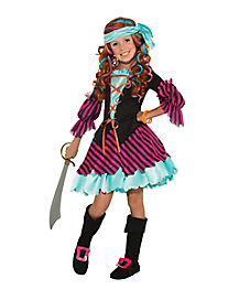 Salty Taffy Pirate Girls Costume