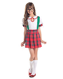 Kids Classroom School Nerd Costume
