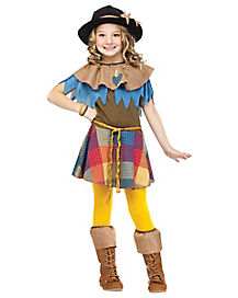 Scarecrow Girls Child Costume