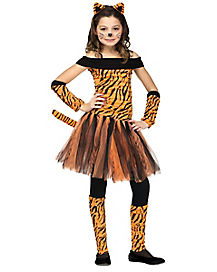 Kids Tigress Tutu Costume
