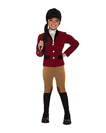 Equestrian Rider Child Costume