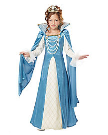 Renaissance Queen Child Costume