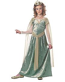 Kids Queen Guinevere Costume