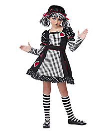 Rag Doll Girls Child Costume