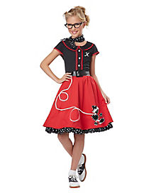 Kids 50s Sweetheart Costume