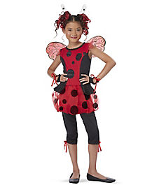 Kids Cute as a Bug Ladybug Costume